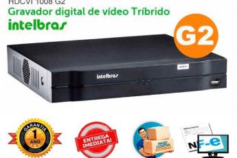 DVR Intelbras 8 Cameras