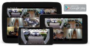 sistema segurança cameras via internet