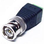 conector bnc com borne como instalar