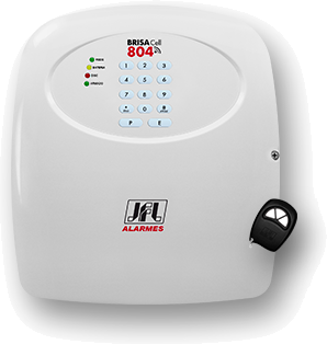 kit alarme residencial com discadora gsm