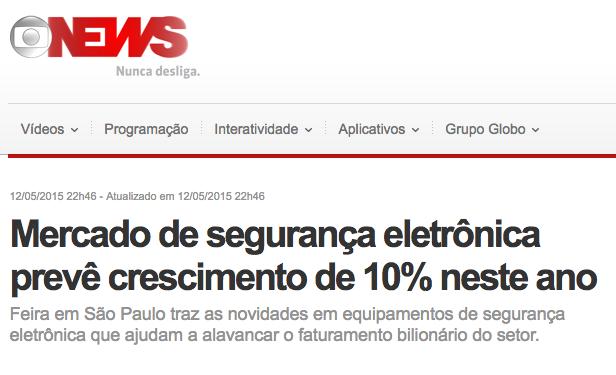 mercado de segurança eletronica