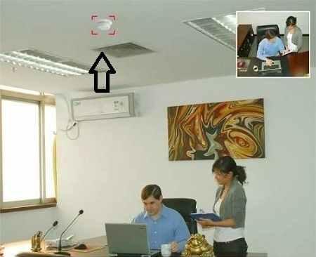 camera espia wifi camuflada