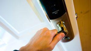 fechadura biométrica